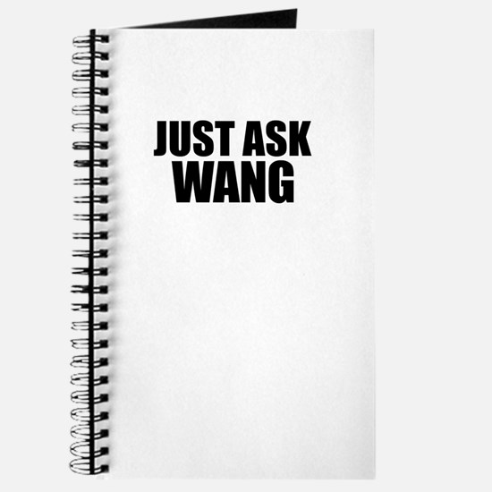 Just ask WANG Journal