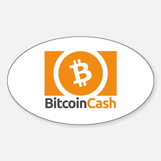 Bitcoin Cash Logo Symbol Design Icon Decal
