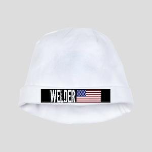 Welder: U.S. Flag baby hat