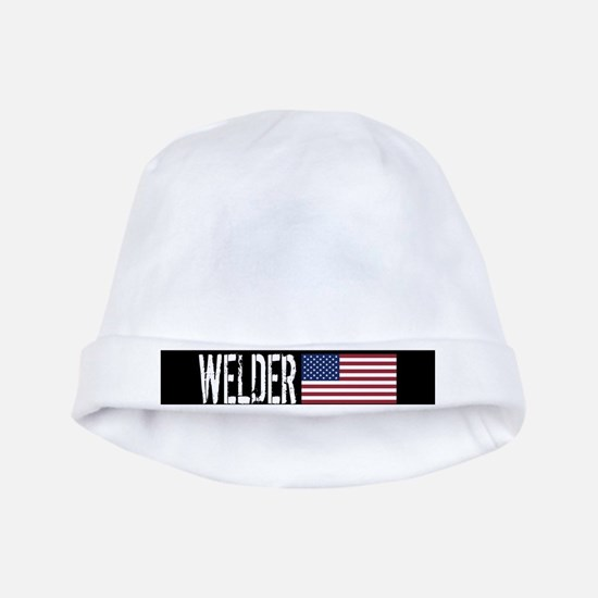 Welder: U.S. Flag baby hat