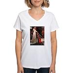 Accolade / Border T Women's V-Neck T-Shirt