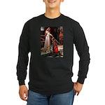 Accolade / Border T Long Sleeve Dark T-Shirt
