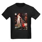 Accolade / Border T Kids Dark T-Shirt