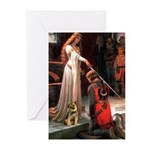 Accolade / Border T Greeting Cards (Pk of 20)