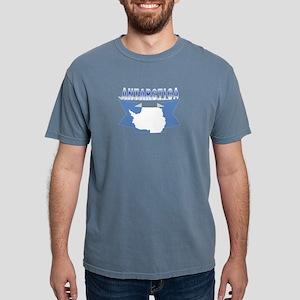Antarctic flag ribbon Women's Dark T-Shirt