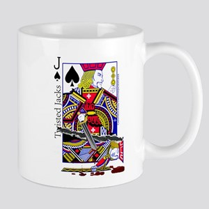 Twisted Jack Of Spades Mugs
