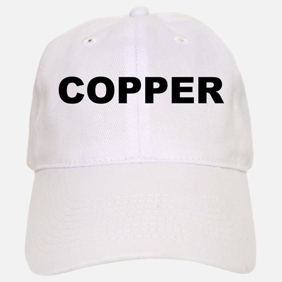 Copper Baseball Baseball Cap