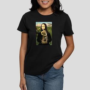 Mona & Border Terri Women's Dark T-Shirt