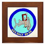 USS Daly (DD 519) Framed Tile