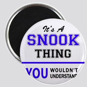 SNOOK thing, you wouldn't understand! Magnets