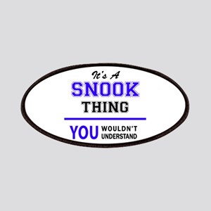 SNOOK thing, you wouldn't understand! Patch