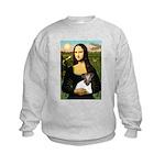 Mona & Fox Terrier Kids Sweatshirt