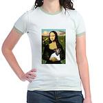 Mona & Fox Terrier Jr. Ringer T-Shirt