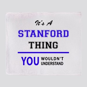 STANFORD thing, you wouldn't underst Throw Blanket