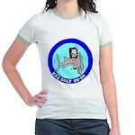 USS Daly (DD 519) Jr. Ringer T-Shirt