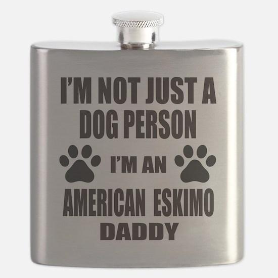 I'm an American Eskimo Dog Daddy Flask