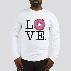 Donut Love Funny Food Humor Long Sleeve T-Shirt