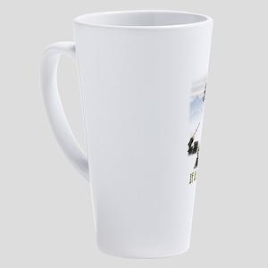 If It Flies It Dies 17 oz Latte Mug