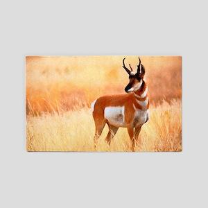 Lone Antelope Area Rug