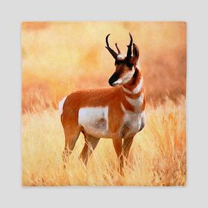 Lone Antelope Queen Duvet
