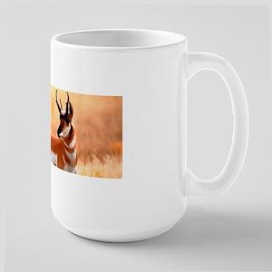 Lone Antelope Large Mug Mugs