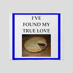 mince pie Throw Blanket