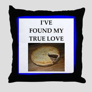 mince pie Throw Pillow