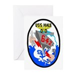 USS Hale (DD 642) Greeting Cards (Pk of 10)