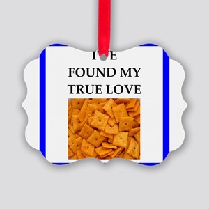 cheese crackers Ornament