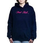 Pink Rock Punk Rock Women's Hooded Sweatshirt