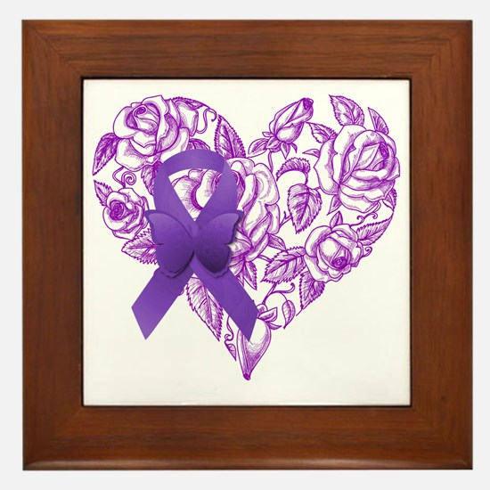 Cute Epilepsy Framed Tile
