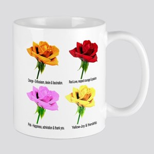 Rose Meanings-2 Mug