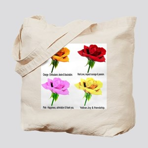 Rose Meanings-2 Tote Bag