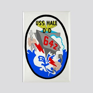 USS Hale (DD 642) Rectangle Magnet