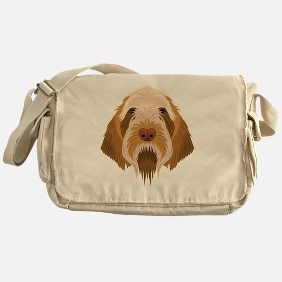 Cute Spinone italiano Messenger Bag