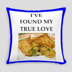 egg rolls Everyday Pillow