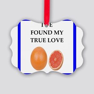 grapefruit Ornament