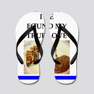 jerk chicken Flip Flops