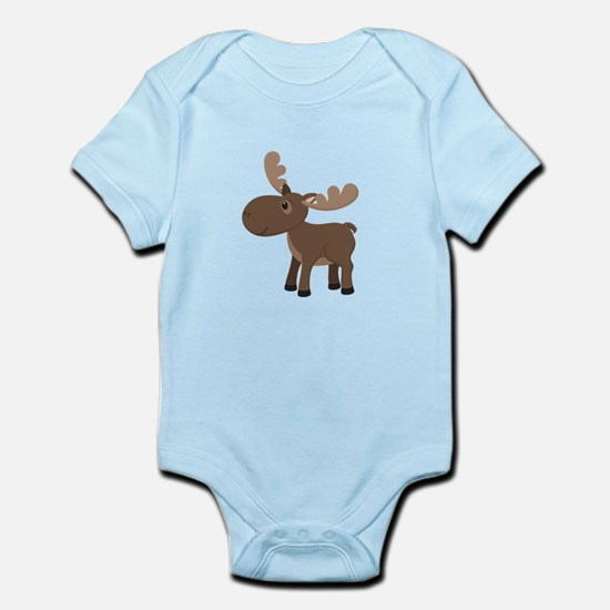 Cartoon Moose Body Suit