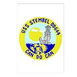 USS Stembel (DD 644) Postcards (Package of 8)