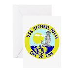USS Stembel (DD 644) Greeting Cards (Pk of 10)