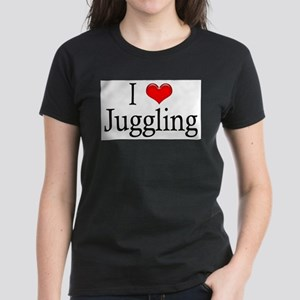 I Heart Juggling Ash Grey T-Shirt