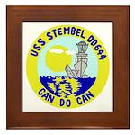 USS Stembel (DD 644) Framed Tile