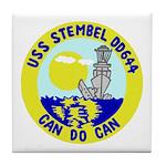 USS Stembel (DD 644) Tile Coaster
