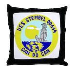 USS Stembel (DD 644) Throw Pillow