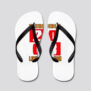 Incredible 2008 Limited Edition Flip Flops