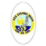 USS Stembel (DD 644) Oval Sticker