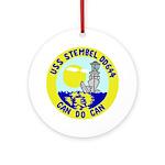 USS Stembel (DD 644) Ornament (Round)