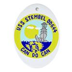 USS Stembel (DD 644) Oval Ornament