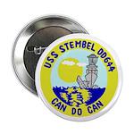 "USS Stembel (DD 644) 2.25"" Button (10 pack)"